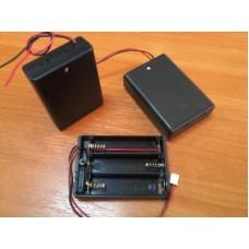 Батарейный отсек для трех батареек аа (акумм.)